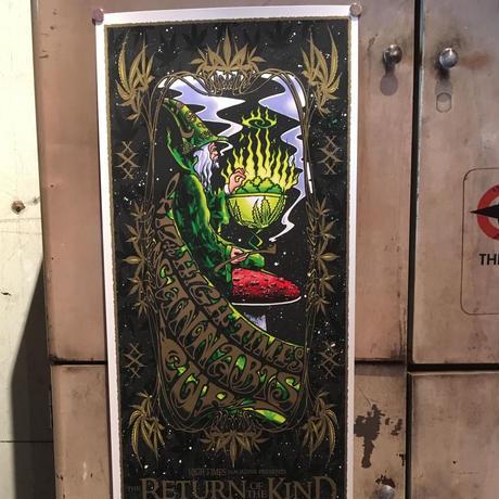 17th  High Times Cannabis Cup Art Poster 2004