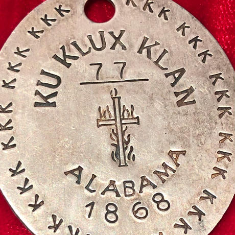 Vintage  KKK   Pendant Top