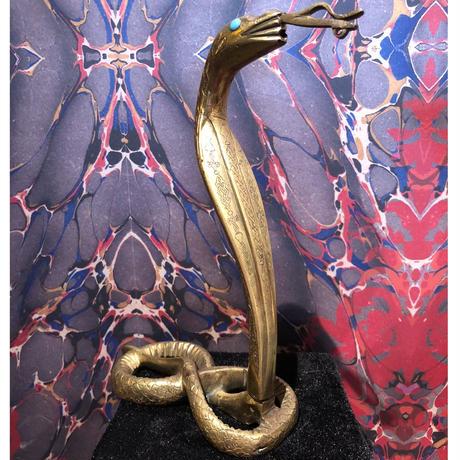 Vintage  Art  King  Cobra  Statue