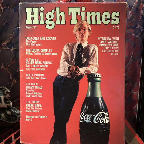 Old  HIGH TIMES  Magazine      ~ August '77 ~