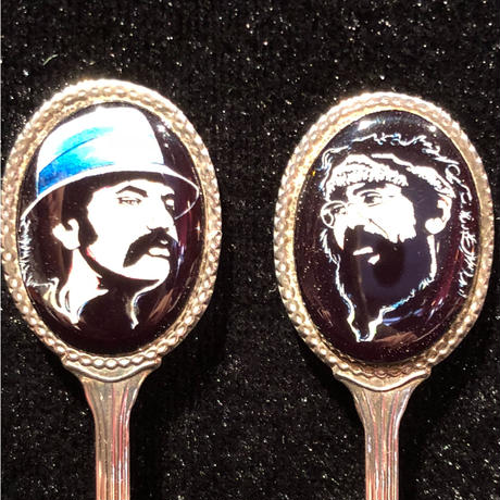 Cheech and Chong  Silver Plated Spoon