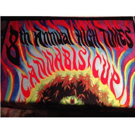 8th  CANNABIS  CUP   Beach Towel