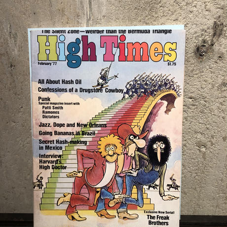 Old   HIGH TIMES  Magazine     ~ February '77 ~
