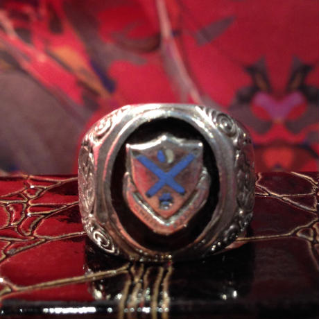 Vintage  U.S.   Army  Sterling  Silver  Ring