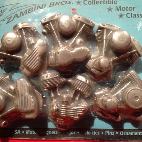 Handmade  USA  Classics  Motor Magnets  Set