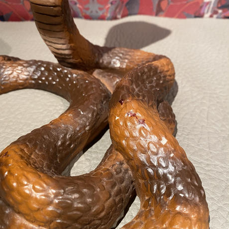 Vintage Ceramic King Cobra