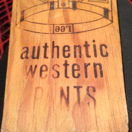 Vintage Wooden Lee Riders  Boot  Jack