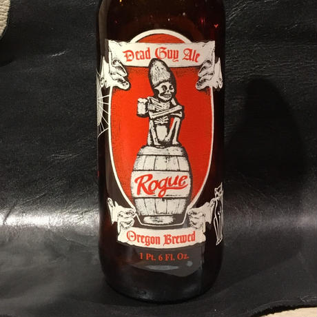 Vintage Rogue Dead Guy  Ale Bottle
