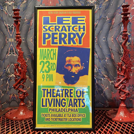 Vintage Silkscreen Poster 【 Lee Scratch Perry 】