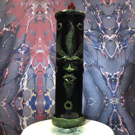 Black Weed Incense  burner