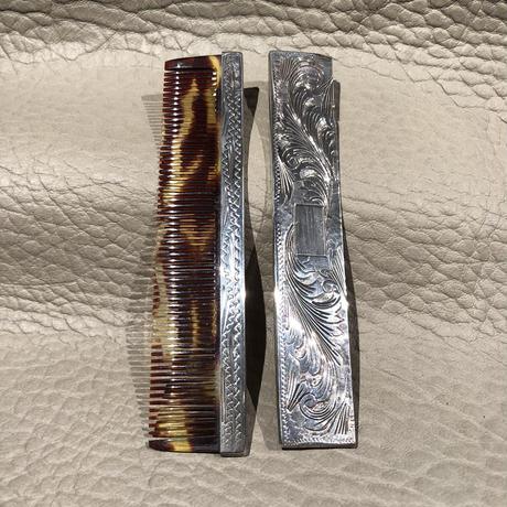 Vintage  Italian Silver  Comb