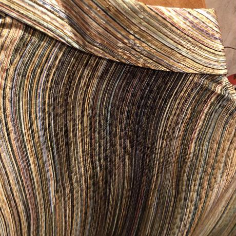 Vintage  Metallic Swirl Stripe Shirt