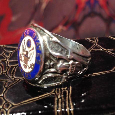 Vintage  U.S.   Army  Sterling  Silver  Ring