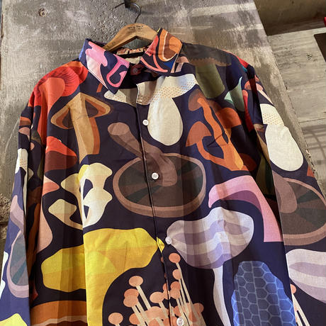 Big Mushrooms Colorful Shirt
