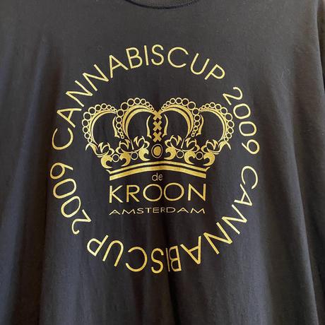 Cannabis Cup 2009 KROON AMSTERDAM Long Tee