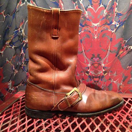 Vintage  Herman  Shoes  Cowboy  Boots   【Size:9  1/2D】