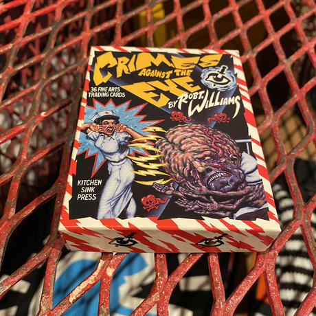 """1991  Robt. Williams Complete Cards Set  """"Crimes Against The Eye"""""""
