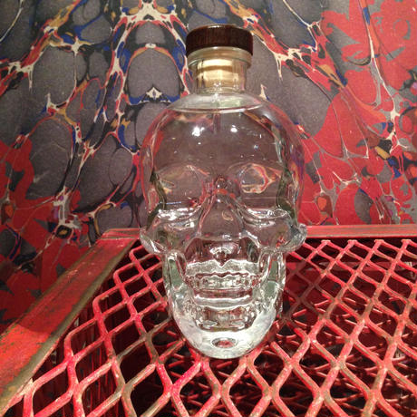 Crystal Skull  Vodka  Bottle