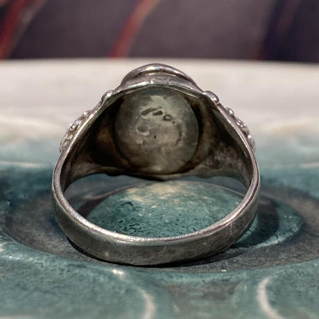 Antique Poison Skull Ring