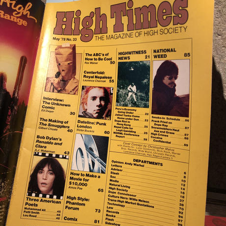 Old   HIGH TIMES  Magazine     ~ May  '78~