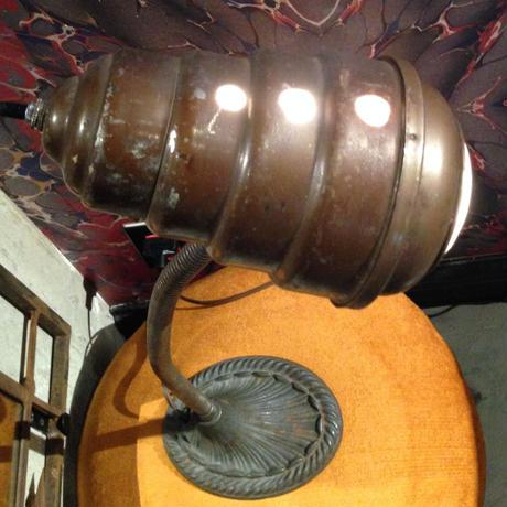 Vintage  Cast  Iron  Alien  Head  Desk Work Lamp