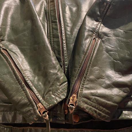 1966's  LANGLITZ LEATHERS  CASCADE  Green  Jacket