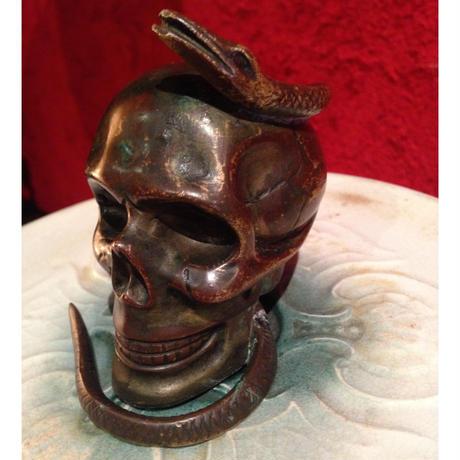 Bronze  Skull&Snake
