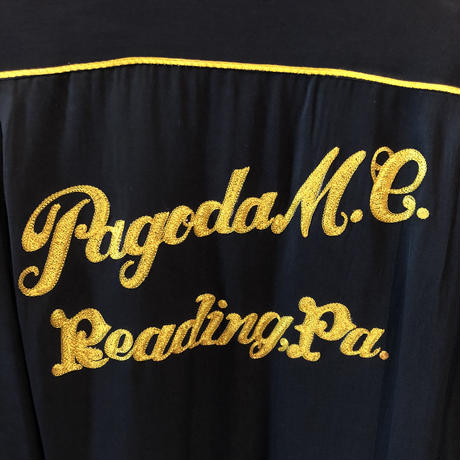 Vintage Pagoda  Motorcycle  Club  Shirt