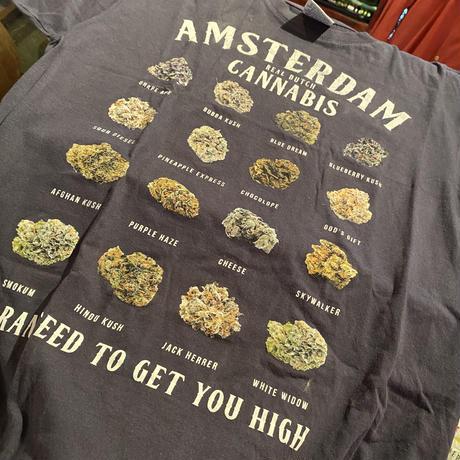 Vintage Amsterdam Cannabis Tee