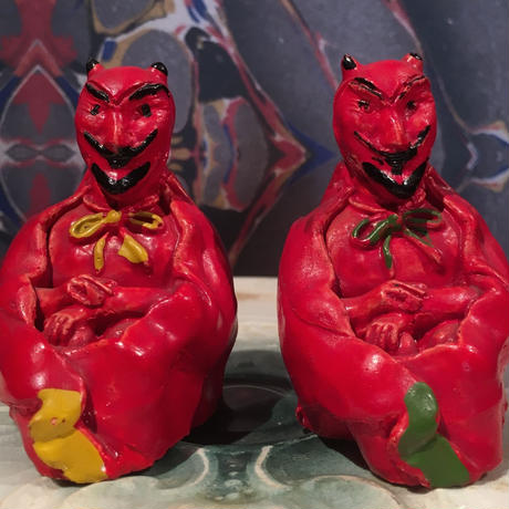 Vintage  Devil  Salt & Pepper