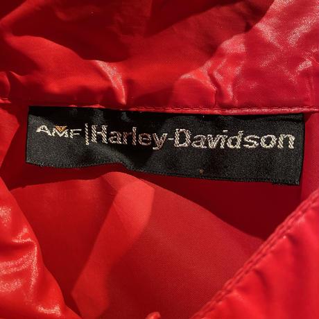 Vintage  70's  AMF  Harley Davidson  Nylon Jacket