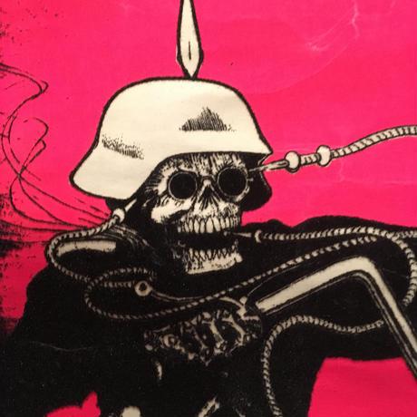 Vintage Blacklight Poster  【Death Rider  】