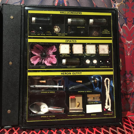 Vintage  MASTER  Identification  Kit  Display