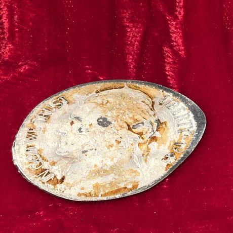 Vintage  KKK Crushed Coin