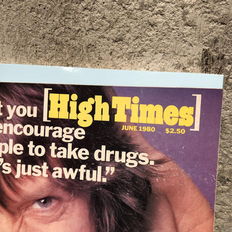 Old   HIGH TIMES  Magazine     ~ June  '80 ~