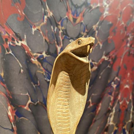 Vintage Wooden King Cobra