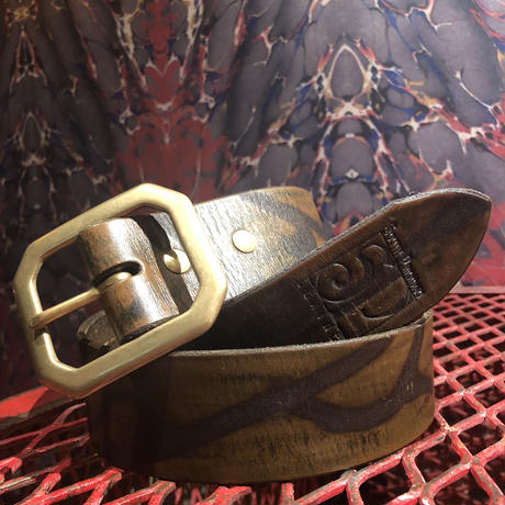 South Paradiso  Leather   Belt  32""