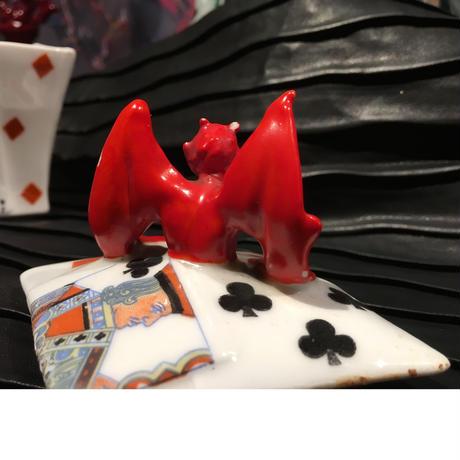 Royal  Bayreuth  Bavaria   Devil & Card  Sugar  Bowl