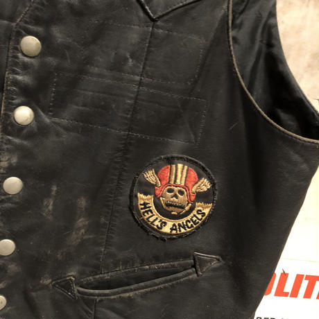 【SOLD】Vintage Motorcycle Club Vest