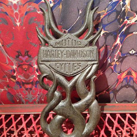 Vintage  Cast  Iron  Harley  Davidson  Boot  Jack