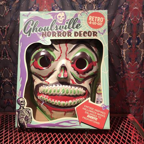 """Horror Decor  """"Green Slime Skull """""""
