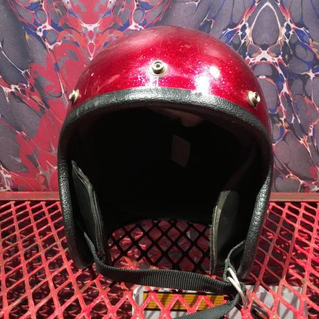 Vintage  Metalflake  Helmet