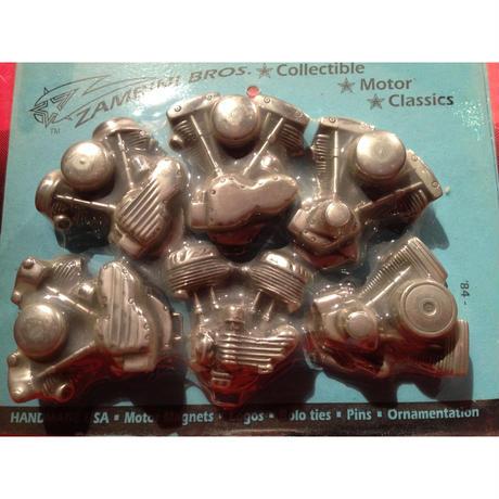 Handmade  USA  Classics  Motor Magnets  Set