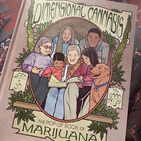 Dimensional Cannabis Pop up Book