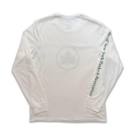 NIKE SPORTSWEAR NYC PARKS L/S T-SHIRTS (WHITE)