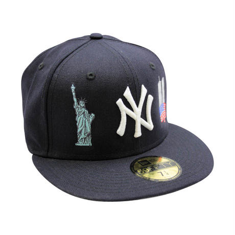 """NEW ERA 59FIFTY NEW YORK YANKEES 2000 WORLD SERIES """"I LOVE NY"""" FITTED CAP"""