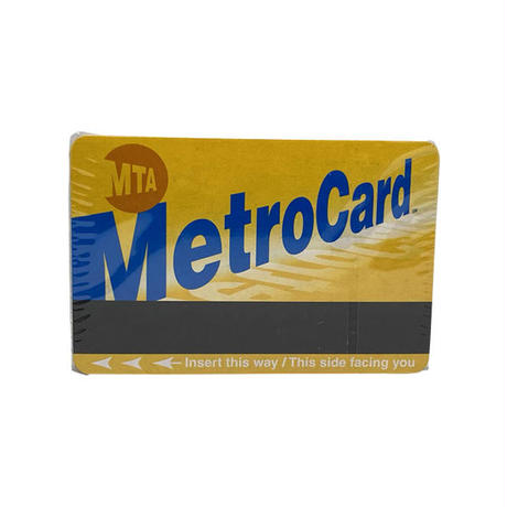 MTA METRO CARD/PLAYING CARDS