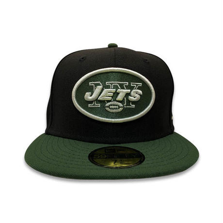 """NEW ERA 59FIFTY NEW YORK JETS""""R O C"""" FITTED CAP"""