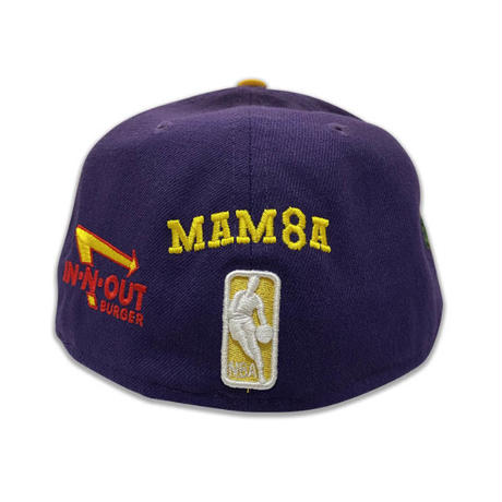 "NEW ERA 59FIFTY LOS ANGELES LAKERS TWO TONE""THE ANGELS"" FITTED CAP"