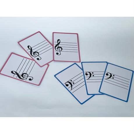5線カード(50枚入り)